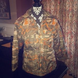 Like New Boys Sportrax Camo winter jacket